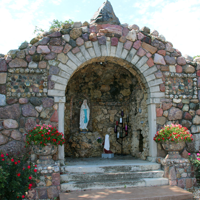 Grotto at St. Mary's Church