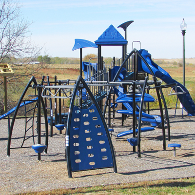 Playground at Leonard L. Clary Community Building